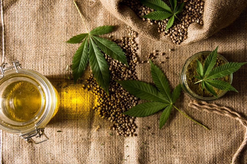 Hemp Seed Oil and CBD Oil